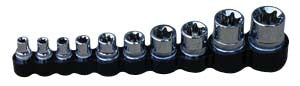 10Pc 1/4-Inch3/8-Inch and 1/2-Inch Drive Female Socket Set - ATD Tools - Dropship Direct Wholesale