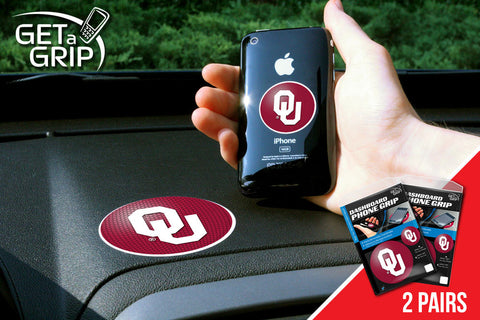 University of Oklahoma Get a Grip 2 Pack - FANMATS - Dropship Direct Wholesale