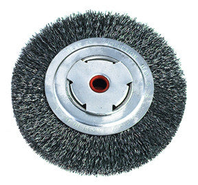 8-Inch Medium Duty Wire Wheel Brush - ATD Tools - Dropship Direct Wholesale