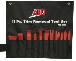 11 Pc. Trim Removal Tool Set - ATD Tools - Dropship Direct Wholesale