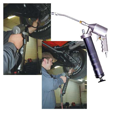 Continuous Action Pneumatic Grease Gun - ATD Tools - Dropship Direct Wholesale