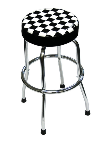 Shop Stool with Checker Design - ATD Tools - Dropship Direct Wholesale