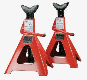 6 Ton Heavy Duty Jack Stands Ratchet Style - ATD Tools - Dropship Direct Wholesale