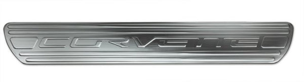 2005+ Chevrolet Corvette Door Sills Chrome - DefenderWorx - Dropship Direct Wholesale