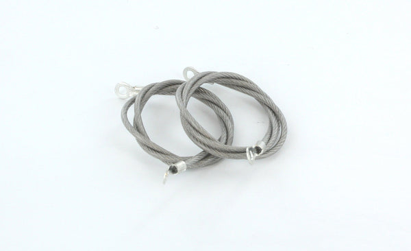All Sales Hood Pin Cables- Clear - AMI - Dropship Direct Wholesale