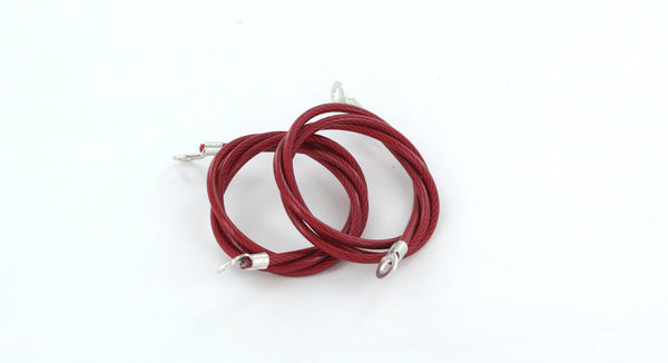All Sales Hood Pin Cables- Red - AMI - Dropship Direct Wholesale