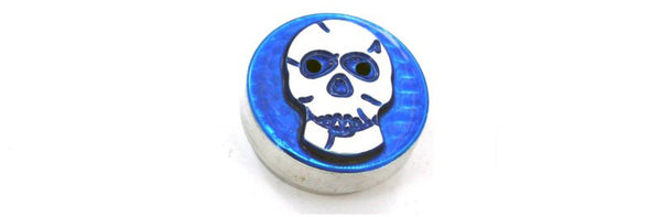 All Sales Interior Dash Knobs (4wd knob)- Skull Blue - AMI - Dropship Direct Wholesale