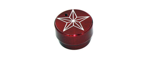 All Sales Interior Dash Knobs (4wd knob)- Star Red - AMI - Dropship Direct Wholesale
