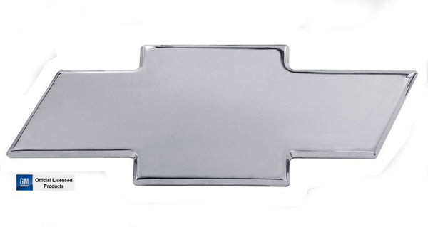 All Sales Chevy Bowtie Liftgate Emblem W/O Border- Polished - AMI - Dropship Direct Wholesale