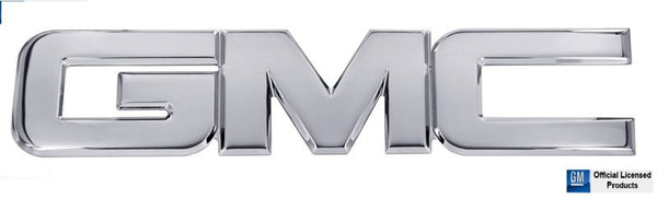 All Sales GMC Tailgate/Liftgate Emblem - Polished - AMI - Dropship Direct Wholesale