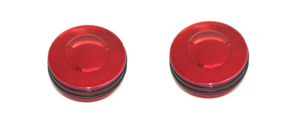 All Sales Interior Dash Knobs (set of 2)- O-ring Red - AMI - Dropship Direct Wholesale