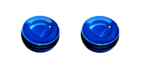 All Sales Interior Dash Knobs (set of 2)- O-ring Blue - AMI - Dropship Direct Wholesale