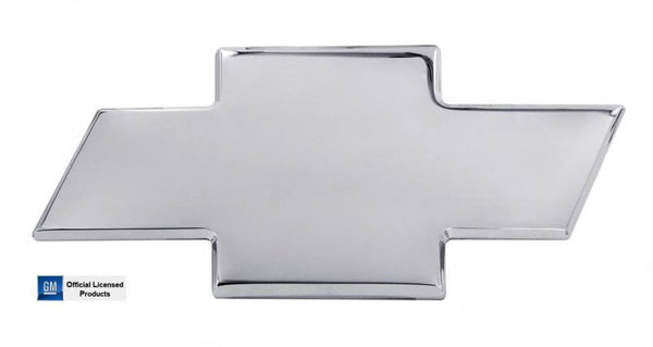 All Sales Chevy Bowtie Tailgate Emblem W/O Border- Polished - AMI - Dropship Direct Wholesale