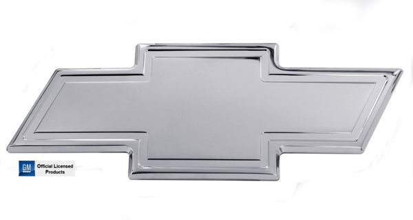 All Sales Chevy Bowtie Tailgate Emblem W/Border- Polished - AMI - Dropship Direct Wholesale