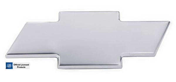 All Sales Chevy Bowtie Liftgate Emblem W/O Border- Chrome - AMI - Dropship Direct Wholesale