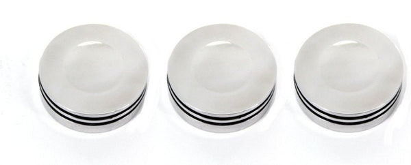 All Sales Interior Dash Knobs (set of 3)- O-ring Polished - AMI - Dropship Direct Wholesale