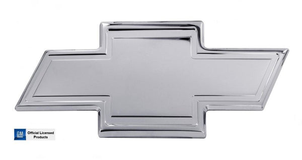 All Sales Chevy Bowtie Grille Emblem W/Border- Chrome - AMI - Dropship Direct Wholesale