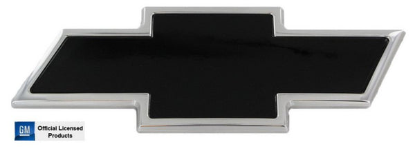 All Sales Chevy Bowtie Liftgate Emblem - Chrome/Black Powdercoat - AMI - Dropship Direct Wholesale
