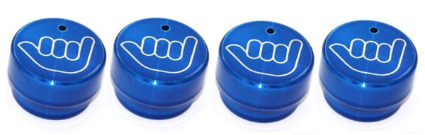 All Sales Interior Dash Knobs (set of 4) AC+4wd knob- Hang Loose Blue - AMI - Dropship Direct Wholesale