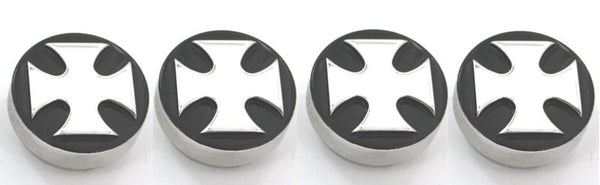 All Sales Interior Dash Knobs (set of 4) AC+4wd knob- Iron Cross Black - AMI - Dropship Direct Wholesale