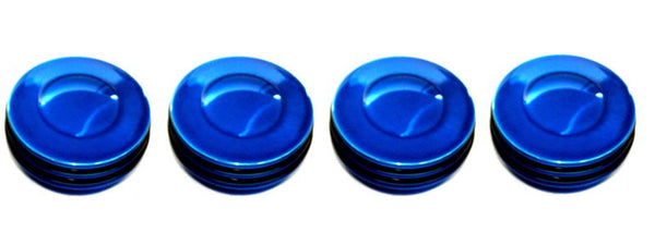 All Sales Interior Dash Knobs (set of 4) AC+4wd knob- O-ring Blue - AMI - Dropship Direct Wholesale