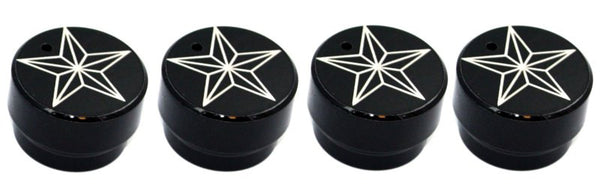 All Sales Interior Dash Knobs (set of 4) AC+4wd knob- Star Black - AMI - Dropship Direct Wholesale