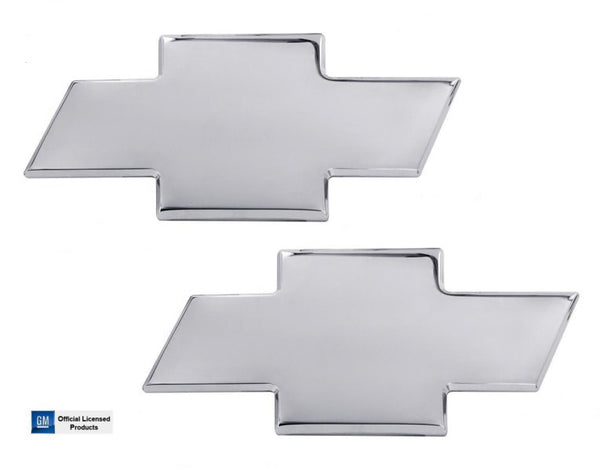 All Sales Chevy Bowtie Grille / Tailgate Emblem W/O Border- Chrome - AMI - Dropship Direct Wholesale