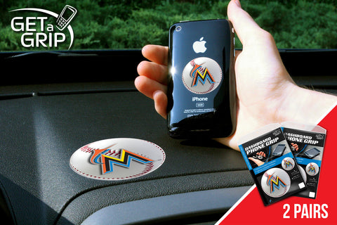 Miami Marlins Get a Grip 2 Pack - FANMATS - Dropship Direct Wholesale