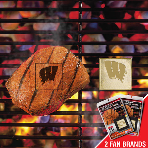 University of Wisconsin Fanbrand 2 Pack - FANMATS - Dropship Direct Wholesale