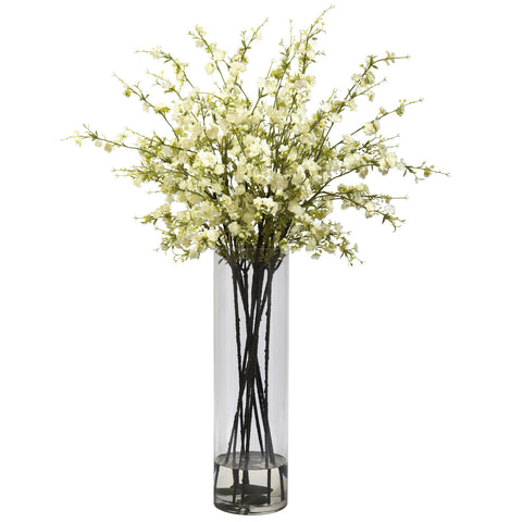 Giant Cherry Blossom Arrangement - Nearly Natural - Dropship Direct Wholesale