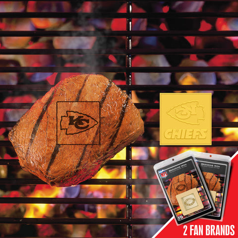 Kansas City Chiefs Fanbrand 2 Pack - FANMATS - Dropship Direct Wholesale
