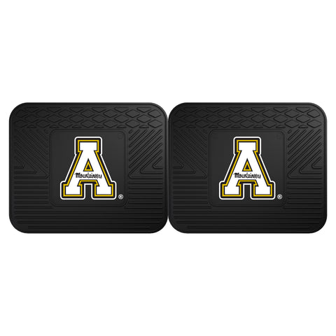 "Appalachian State Backseat Utility Mats 2 Pack 14""x17"" - FANMATS - Dropship Direct Wholesale"
