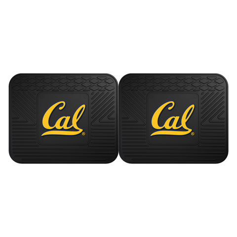 UC Berkeley Backseat Utility Mats 2 Pack 14x17 - FANMATS - Dropship Direct Wholesale