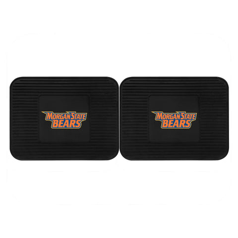 Morgan State Backseat Utility Mats 2 Pack 14x17 - FANMATS - Dropship Direct Wholesale