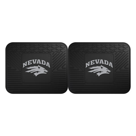 University of Nevada Backseat Utility Mats 2 Pack 14x17 - FANMATS - Dropship Direct Wholesale