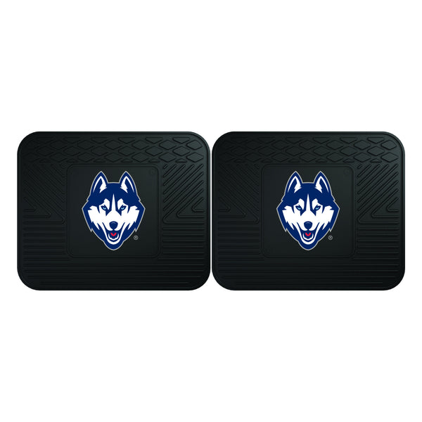 University of Connecticut Utility Mats 2 Pack 14x17 - FANMATS - Dropship Direct Wholesale