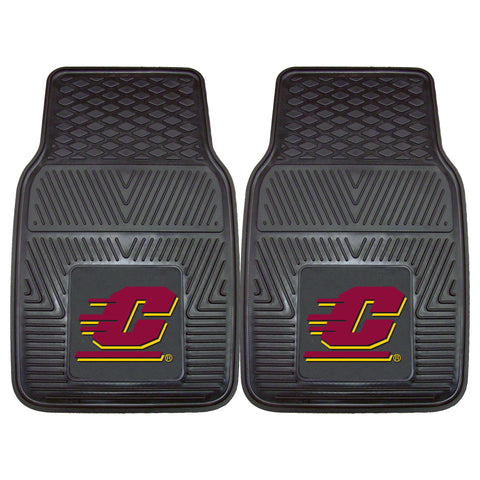 Central Michigan University 2-pc Vinyl Car Mat Set - FANMATS - Dropship Direct Wholesale