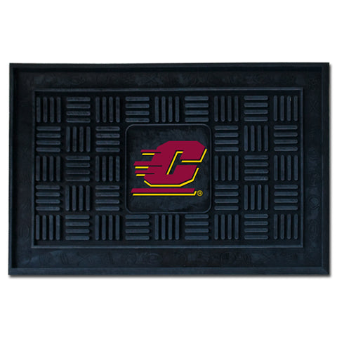 Central Michigan University Medallion Door Mat - FANMATS - Dropship Direct Wholesale
