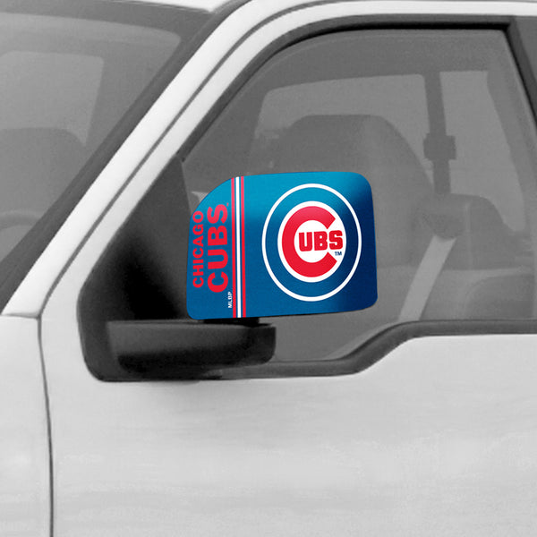 Chicago Cubs Large Mirror Cover - FANMATS - Dropship Direct Wholesale