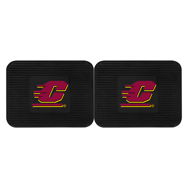 Central Michigan University Utility Mats 2 Pack 14x17 - FANMATS - Dropship Direct Wholesale