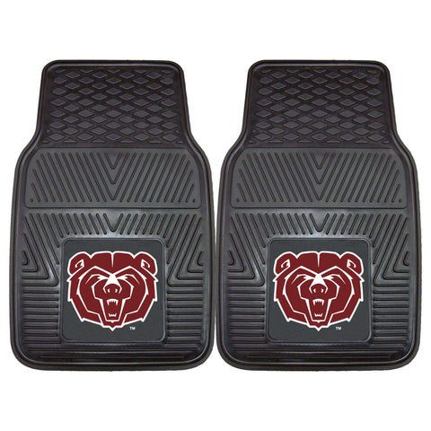 Missouri State Heavy Duty 2-Piece Vinyl Car Mats 17x27 - FANMATS - Dropship Direct Wholesale