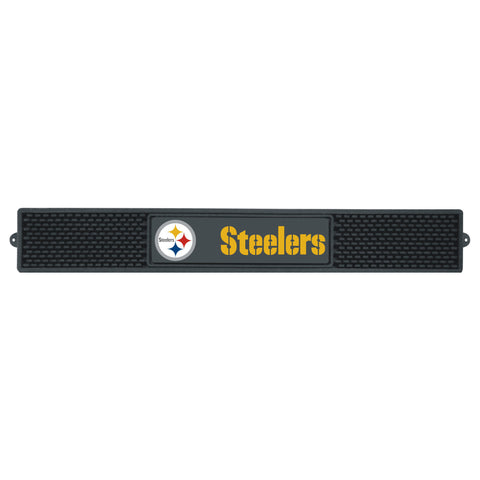 Pittsburgh Steelers Drink Mat 3.25x24 - FANMATS - Dropship Direct Wholesale