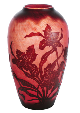 10 Inch H Galle Day Lily Vase - Meyda - Dropship Direct Wholesale