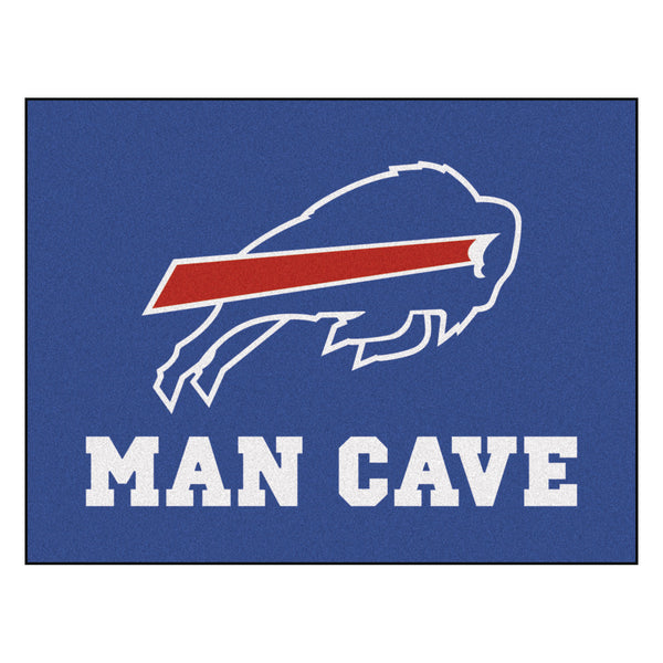 Buffalo Bills Man Cave All-Star Mat 33.75x42.5 - FANMATS - Dropship Direct Wholesale