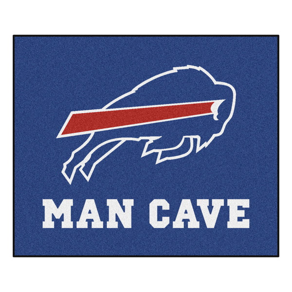 Buffalo Bills Man Cave Tailgater Rug 5x6 - FANMATS - Dropship Direct Wholesale