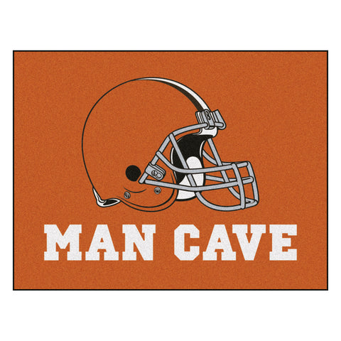 Cleveland Browns Man Cave All-Star Mat 33.75x42.5 - FANMATS - Dropship Direct Wholesale