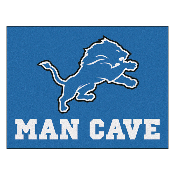 Detroit Lions Man Cave All-Star Mat 33.75x42.5 - FANMATS - Dropship Direct Wholesale
