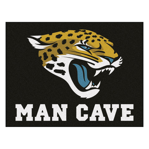 Jacksonville Jaguars Man Cave All-Star Mat 33.75x42.5 - FANMATS - Dropship Direct Wholesale