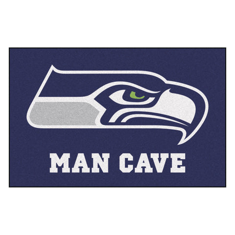 Seattle Seahawks Man Cave Starter Rug 19x30 - FANMATS - Dropship Direct Wholesale