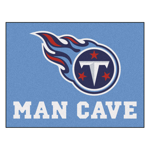 Tennessee Titans Man Cave All-Star Mat 33.75x42.5 - FANMATS - Dropship Direct Wholesale